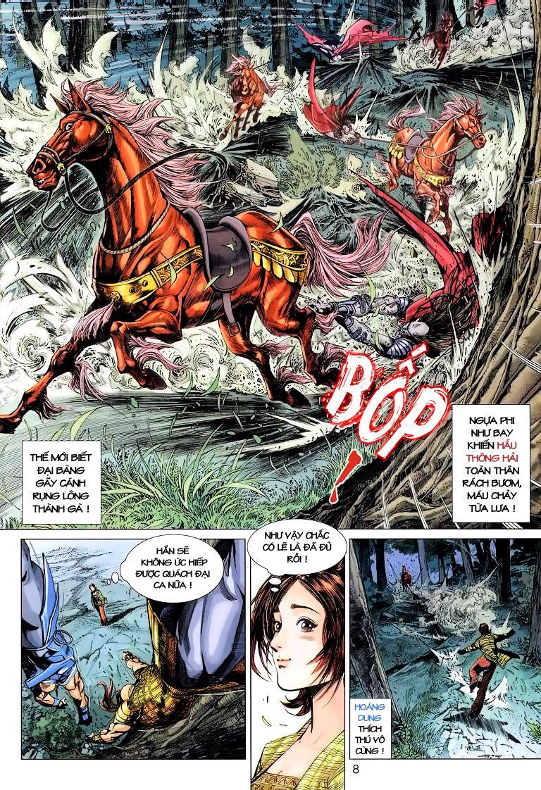 Anh Hùng Xạ Điêu anh hùng xạ đêu chap 6 trang 8