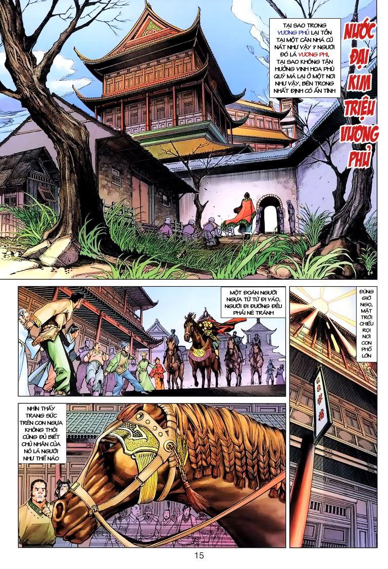 Anh Hùng Xạ Điêu anh hùng xạ đêu chap 6 trang 15