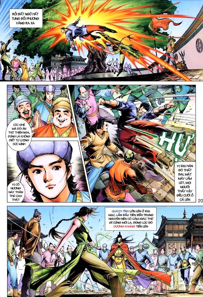 Anh Hùng Xạ Điêu anh hùng xạ đêu chap 6 trang 20