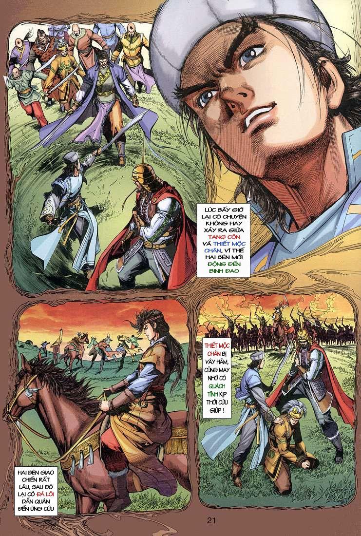 Anh Hùng Xạ Điêu anh hùng xạ đêu chap 4 trang 21