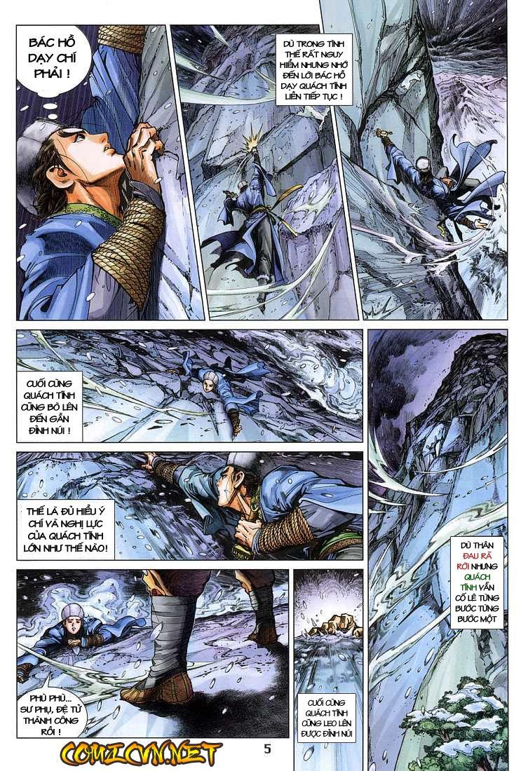 Anh Hùng Xạ Điêu anh hùng xạ đêu chap 4 trang 5