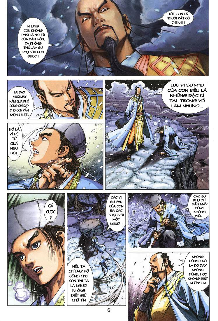 Anh Hùng Xạ Điêu anh hùng xạ đêu chap 4 trang 6