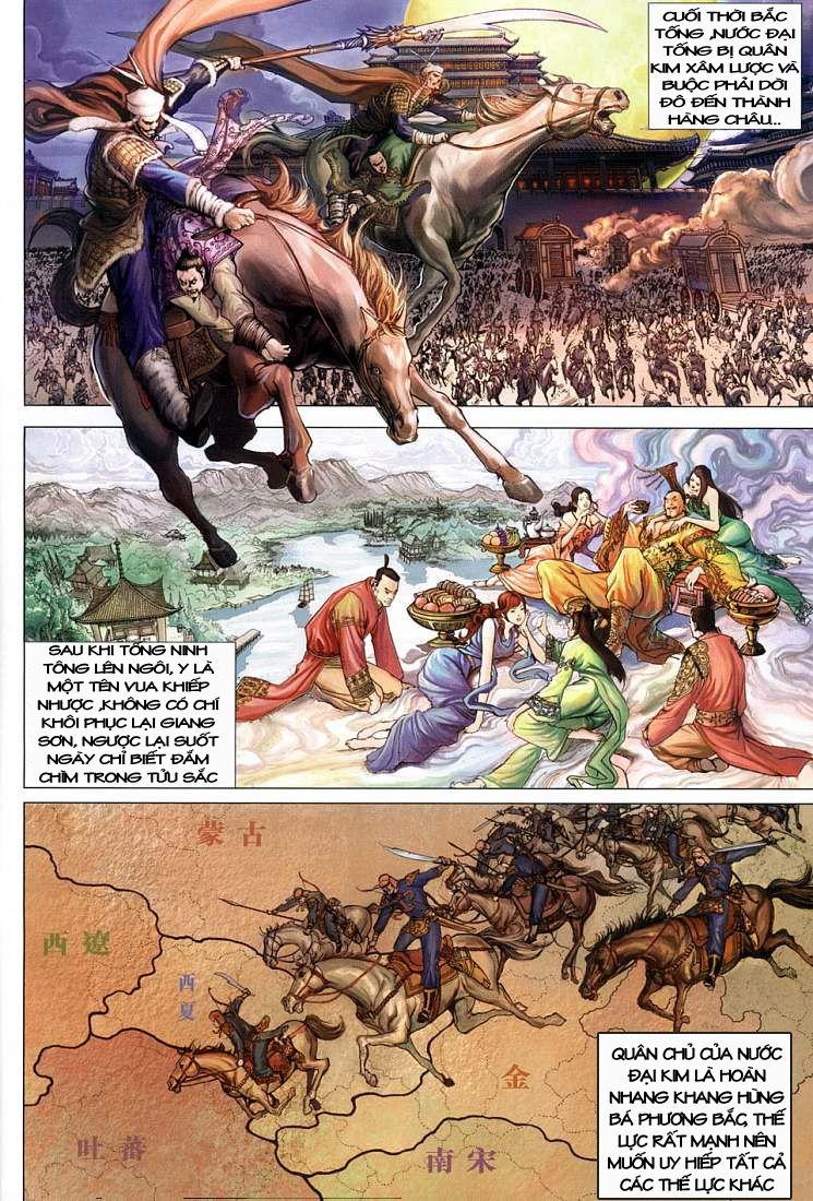Anh Hùng Xạ Điêu anh hùng xạ đêu chap 1 trang 9