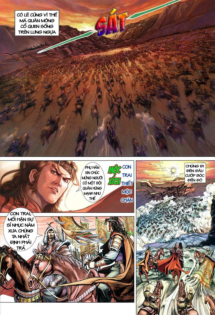 Anh Hùng Xạ Điêu anh hùng xạ đêu chap 1 trang 11