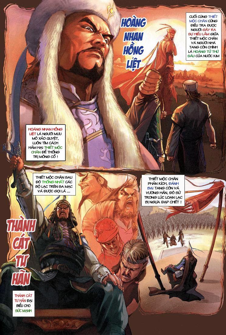 Anh Hùng Xạ Điêu anh hùng xạ đêu chap 4 trang 22