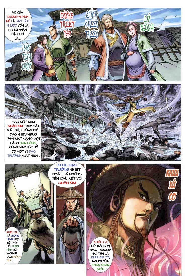 Anh Hùng Xạ Điêu anh hùng xạ đêu chap 3 trang 4
