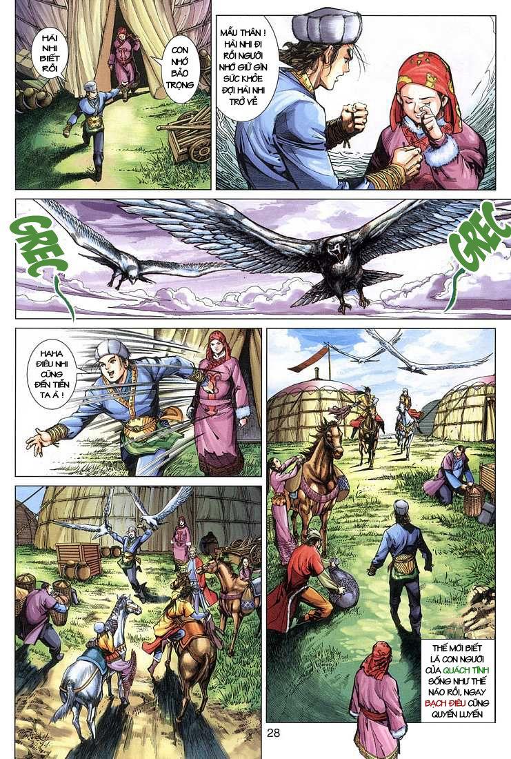 Anh Hùng Xạ Điêu anh hùng xạ đêu chap 4 trang 28