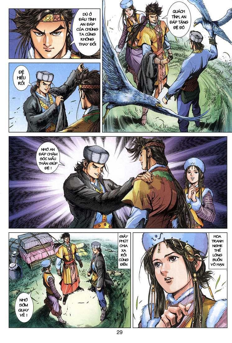Anh Hùng Xạ Điêu anh hùng xạ đêu chap 4 trang 29