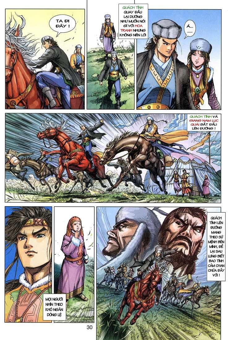 Anh Hùng Xạ Điêu anh hùng xạ đêu chap 4 trang 30