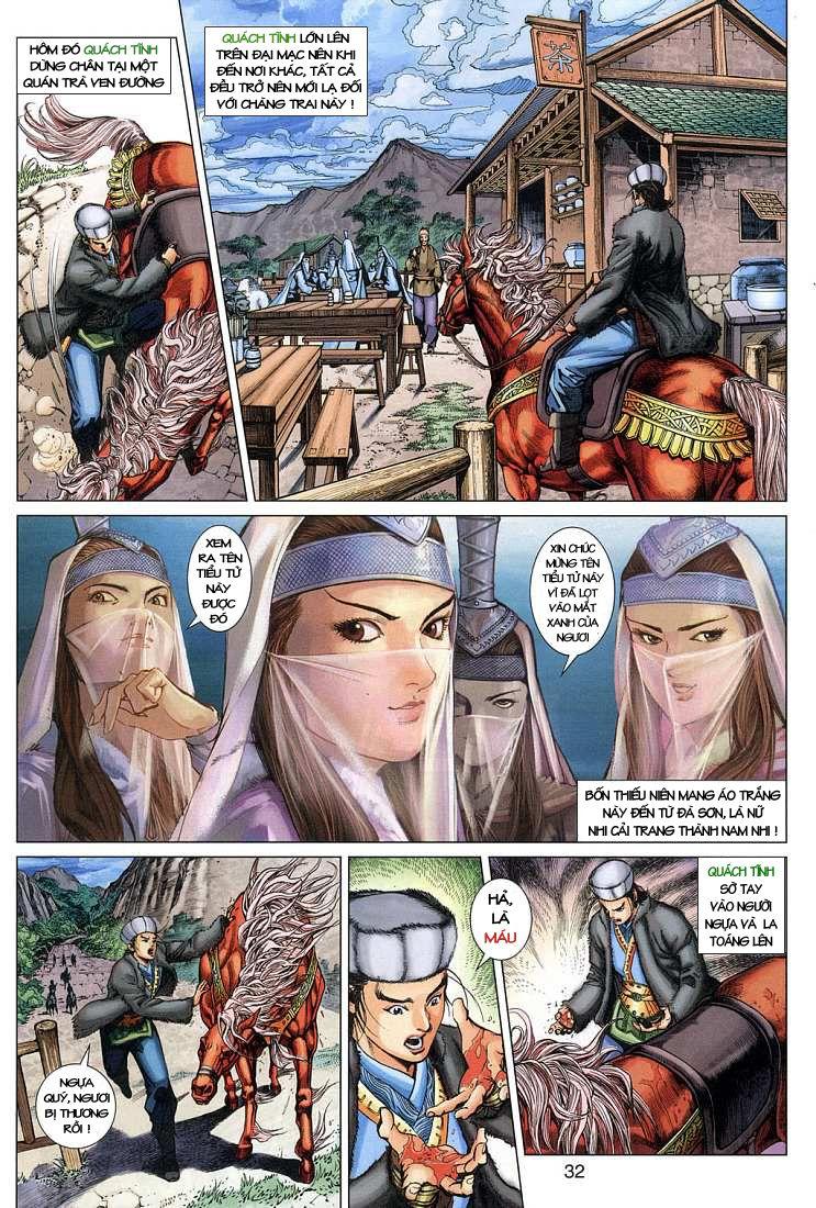 Anh Hùng Xạ Điêu anh hùng xạ đêu chap 4 trang 32