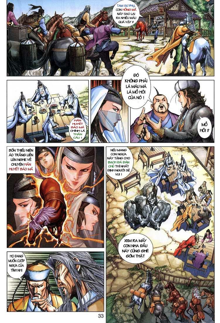 Anh Hùng Xạ Điêu anh hùng xạ đêu chap 4 trang 33