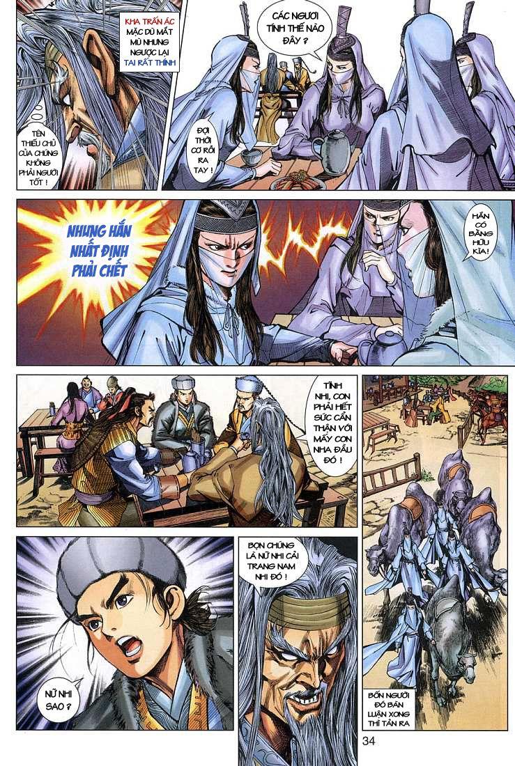 Anh Hùng Xạ Điêu anh hùng xạ đêu chap 4 trang 34
