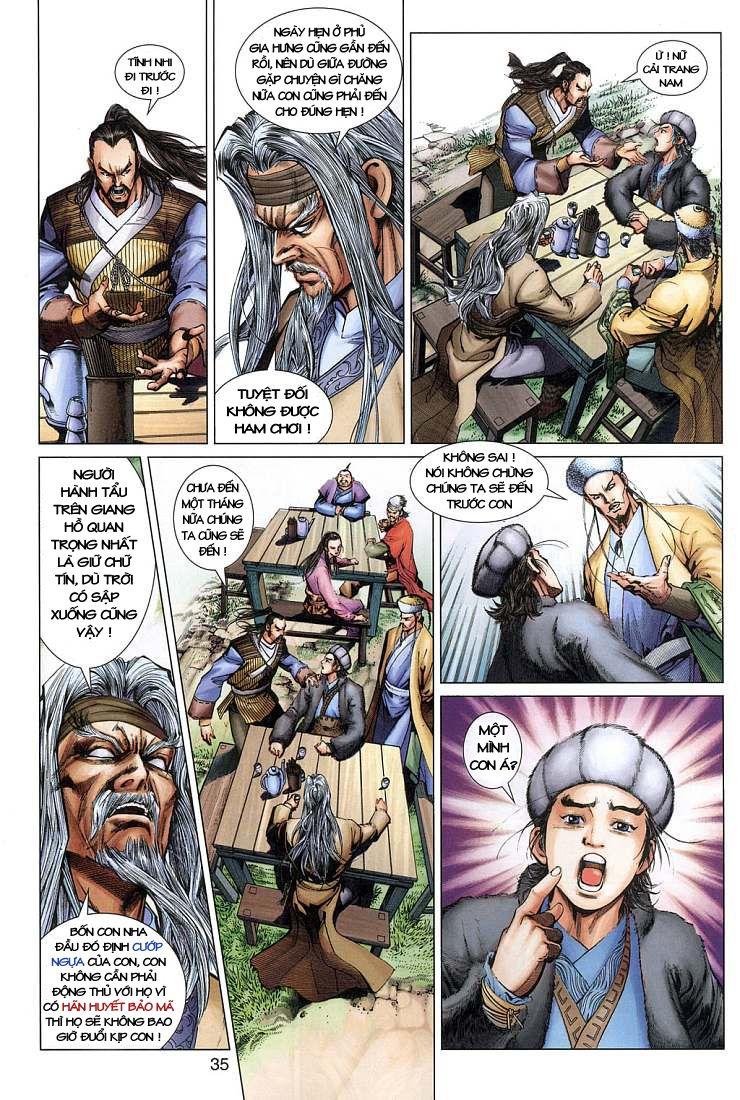 Anh Hùng Xạ Điêu anh hùng xạ đêu chap 4 trang 35