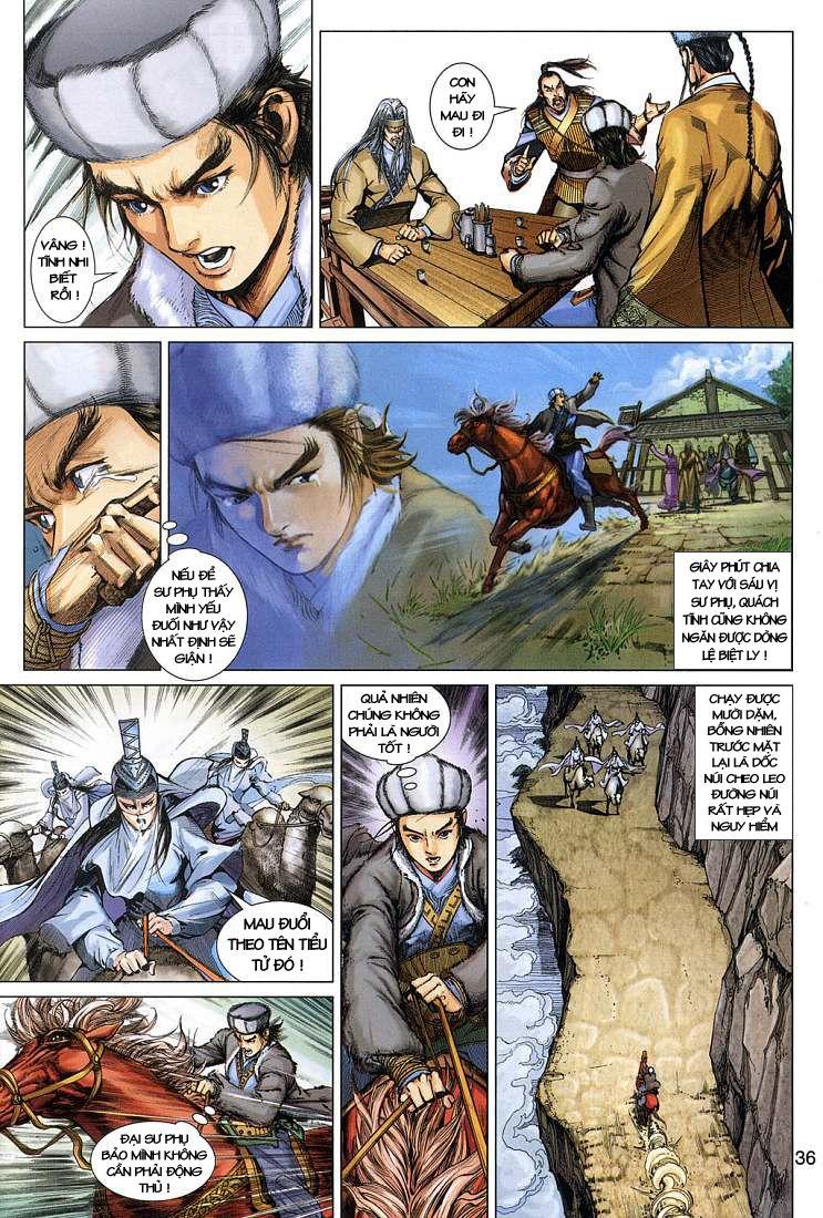 Anh Hùng Xạ Điêu anh hùng xạ đêu chap 4 trang 36