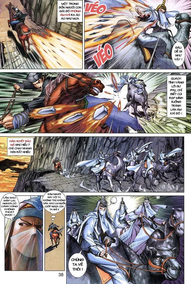 Anh Hùng Xạ Điêu anh hùng xạ đêu chap 4 trang 38