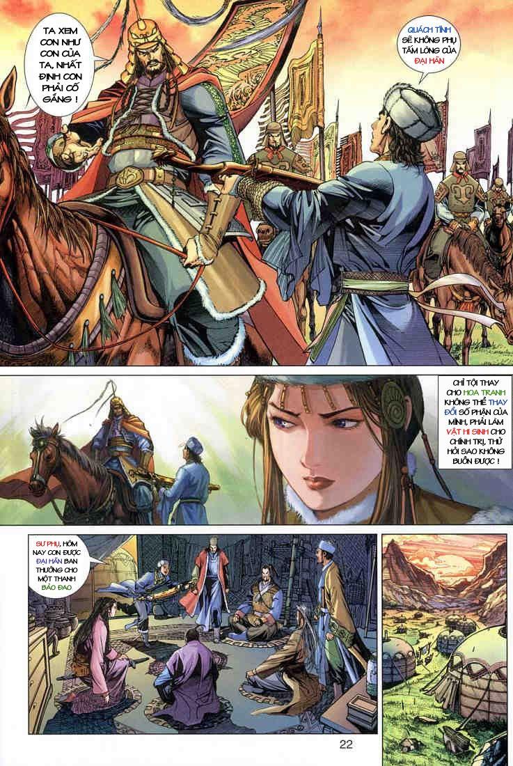 Anh Hùng Xạ Điêu anh hùng xạ đêu chap 3 trang 21