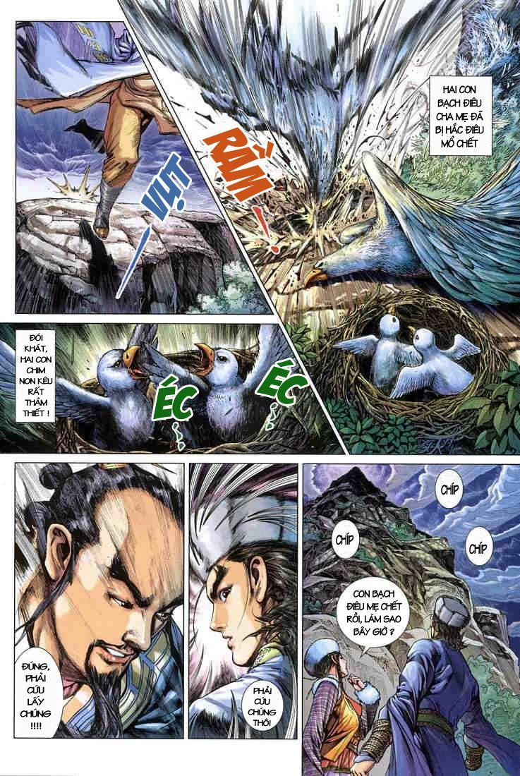 Anh Hùng Xạ Điêu anh hùng xạ đêu chap 3 trang 33