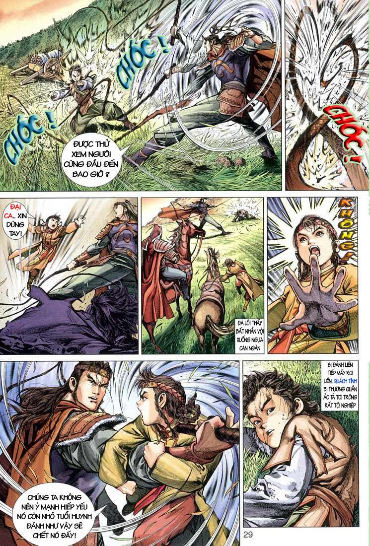 Anh Hùng Xạ Điêu anh hùng xạ đêu chap 1 trang 21