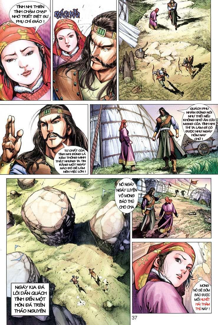 Anh Hùng Xạ Điêu anh hùng xạ đêu chap 1 trang 29