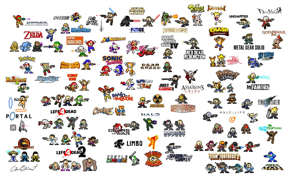 the daily zombies mega man vs every big names and some not so big