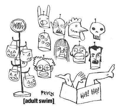 Art and illustration, Squidbillies and Swim on Pinterest