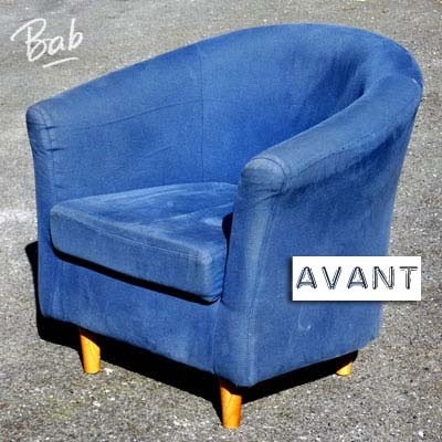 r novation d un fauteuil cabriolet. Black Bedroom Furniture Sets. Home Design Ideas