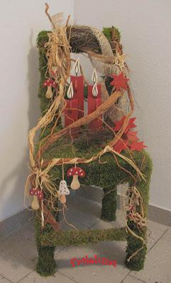 Weihnachtsdeko Stuhl.Frileluna Weihnachtsdeko