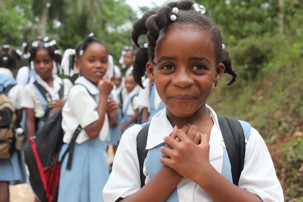 haiti haitian jacmel young culture heart happening know positive report socialbrite diversity schoolgirls forgotten haven