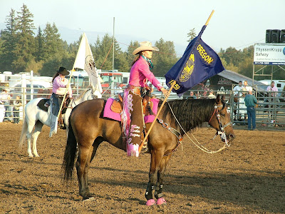 Jackie Gibson 2009 Miss Rodeo Oregon Joseph Santiam