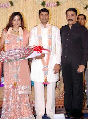 In Pics Tamil Actress Meena Wedding Reception