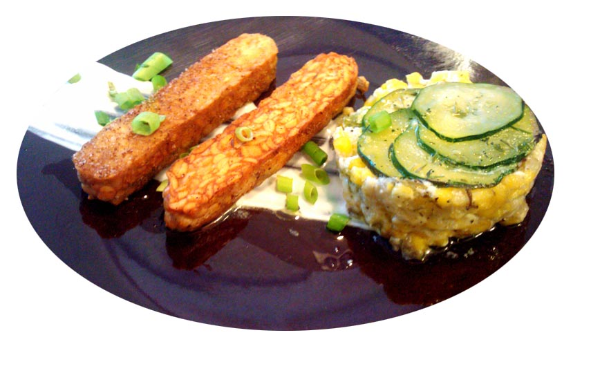 A Profound Hatred of Meat: Creole Tempeh, Creamed Corn ...