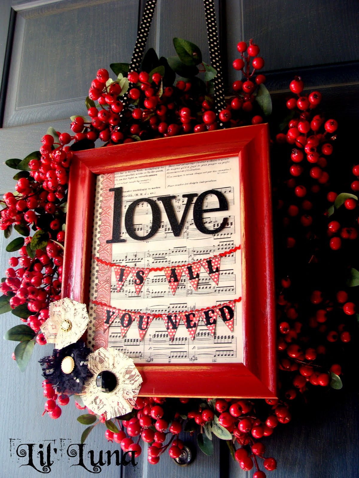 14 Valentine's Day Wreaths | Positively Splendid {Crafts, Sewing ...