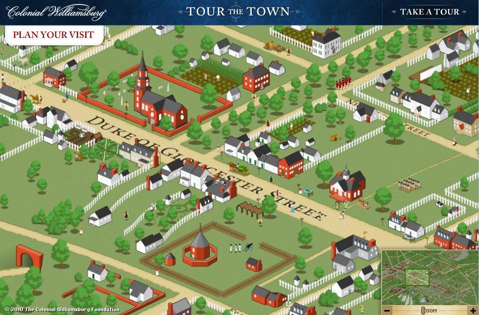 Colonial Williamsburg Virtual Tour