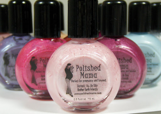 Petite Planet Polished Mama Non Toxic Nail Polish Created