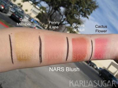 NARS Cactus Flower Cream Blush - Silk Naturals
