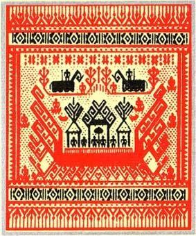 Budaya Lampung Wallpaper Tapis Lampung