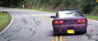 240SX with crazy Bosozoku tailpipe