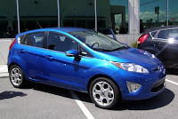 2010 Ford Fiesta in Blue Flame Metallic - Subcompact Culture