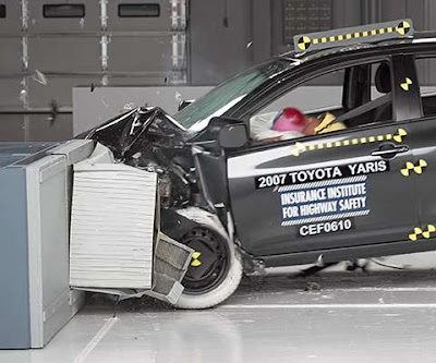 Yaris Crash Test - Subcompact Culture