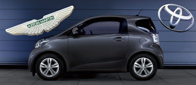 Aston Martin to sell Toyota iQ?