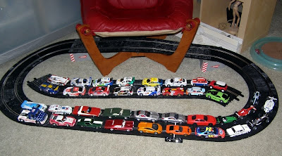 Slot car collection - Subcompact Culture