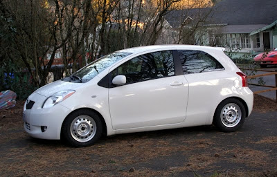 Toyota Yaris ready for winter - Subcompact Culture