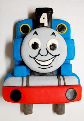 Template For Thomas The Tank Engine Cake | Thomas The Train Cake Instructions And Pattern Cakecentral Com