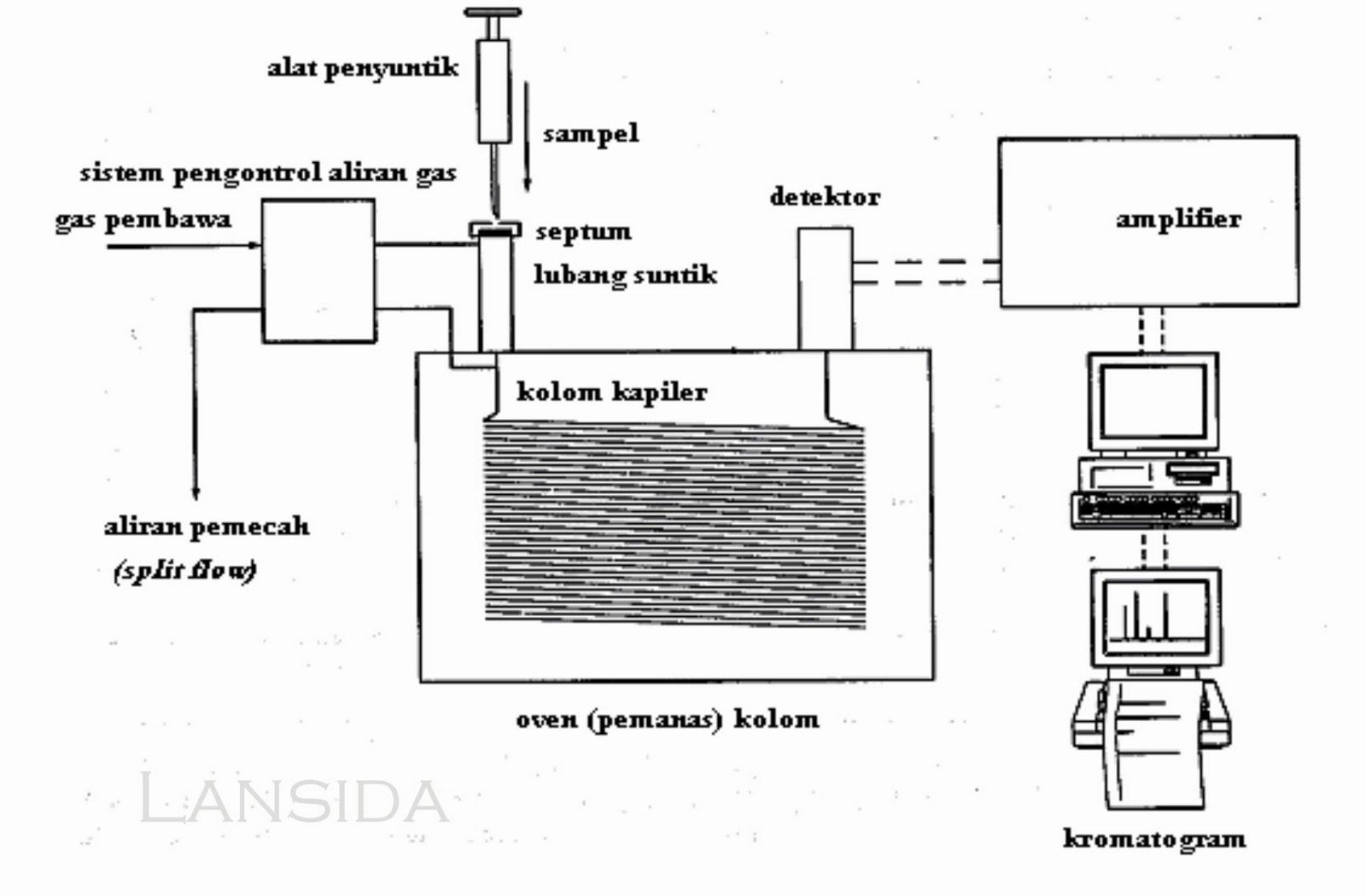 Gc Gas Chromatography Lansida