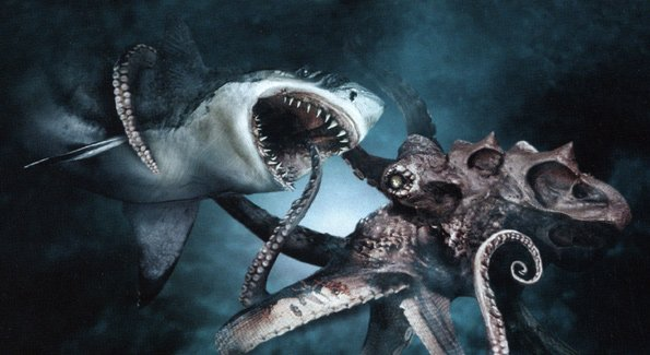giant octopus attacks man - photo #21