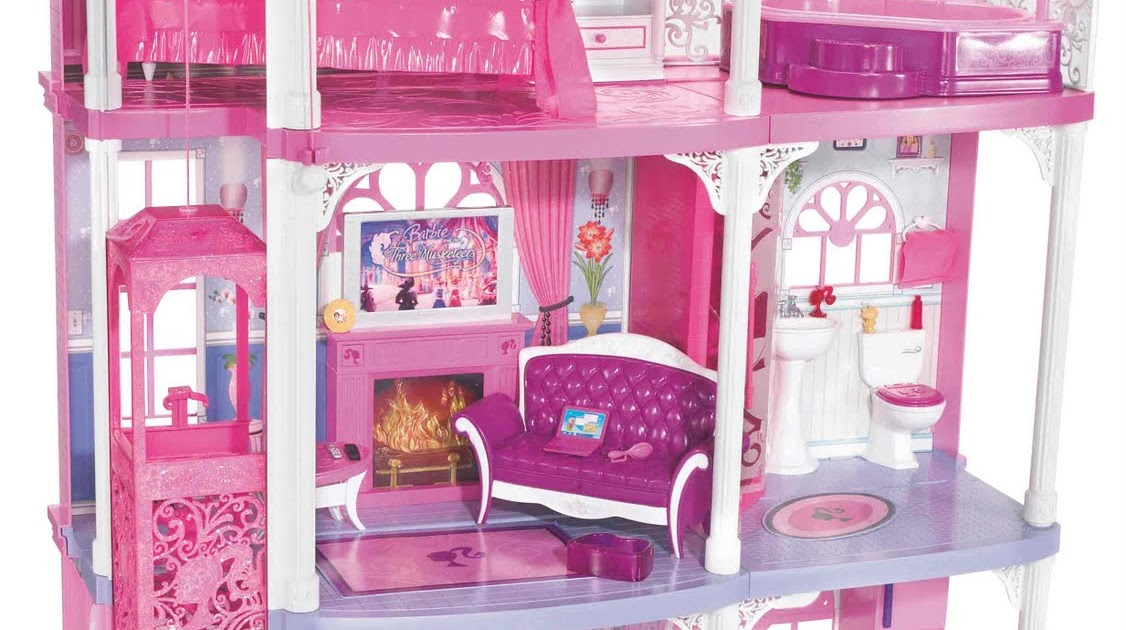 potins enfantins barbie no l. Black Bedroom Furniture Sets. Home Design Ideas