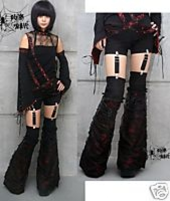 fashion trends girls: Gothic Pants Clothing