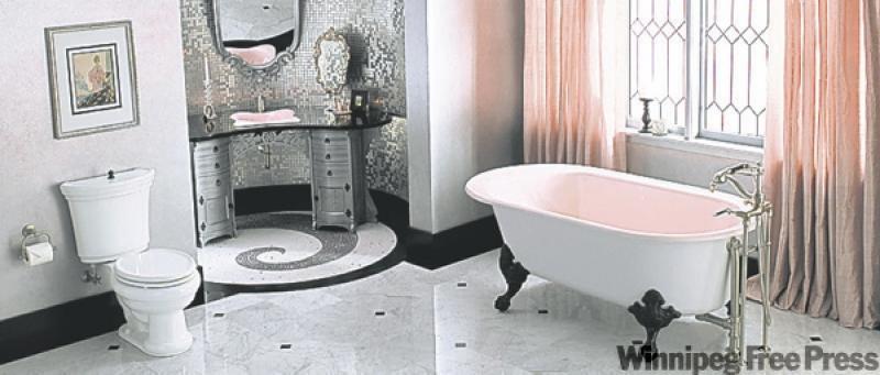Life At Rose Cottage Old Hollywood Bathroom
