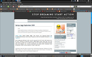 Kopitozie Sang Panglima Stop Dreaming Start Action