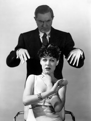 Bela Lugosi and Anne Gwynne in a publicity still for Black Friday